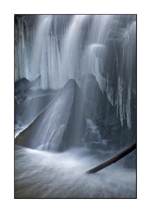 At the base of Dutchman Falls