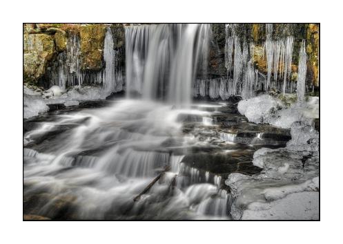 half Frozen Dutchman Falls