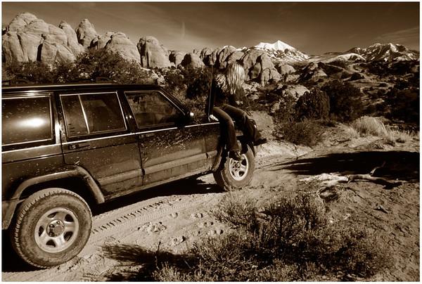Behind the Rocks, Utah