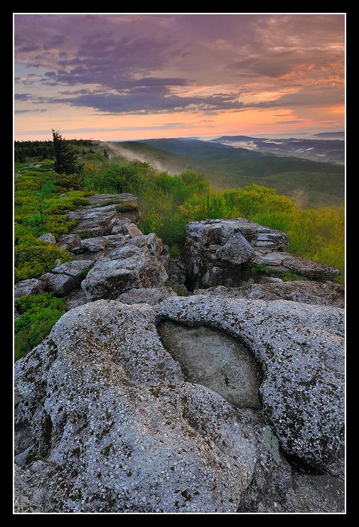 Spring Sunrise on Bear Rocks