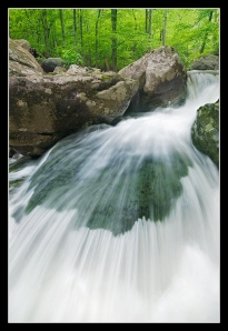 white oak waterfall