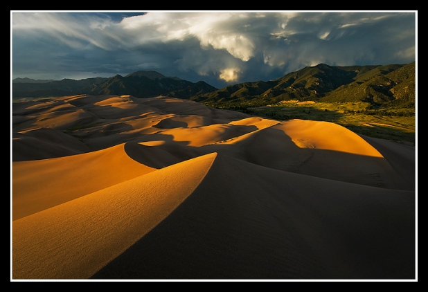 Monsoon over the Great Sand Dunes