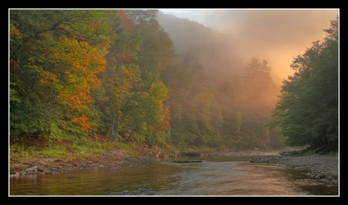 Sunrise on Loyalsock Creek
